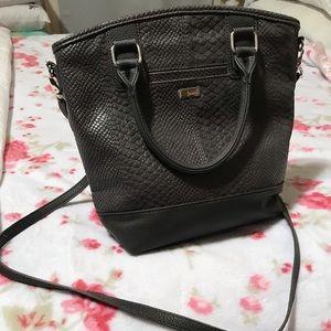 Grey Cross-body Bag
